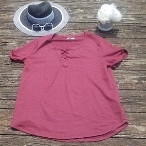 Maurices Large short sleeve top.
